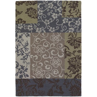 INT Floral Swirls Area Rug Rug Size: 79 x 106
