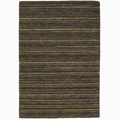 Juniper Green Stripe Outdoor Area Rug Rug Size: 2 x 3