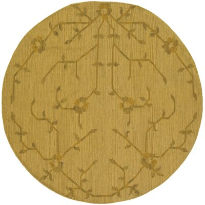 Bon Terra Wool Rug Rug Size: Round 59
