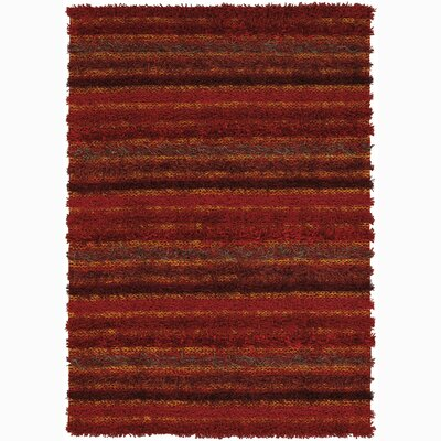 Wyant Hand Woven Stripe Rug Rug Size: 5 x 76