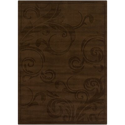 LaKendra Chocolate Rug Rug Size: Rectangle 5 x 76