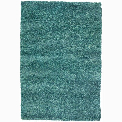 Renald Blue Area Rug Rug Size: 79 x 106
