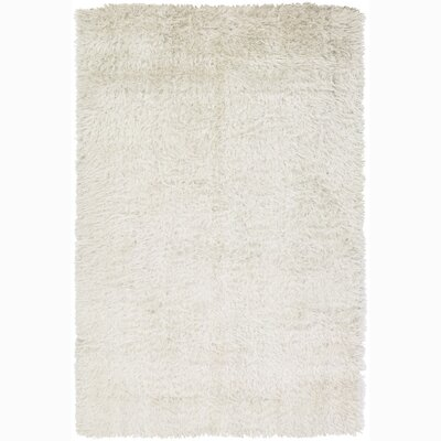 Oyster White Area Rug Rug Size: 79 x 106