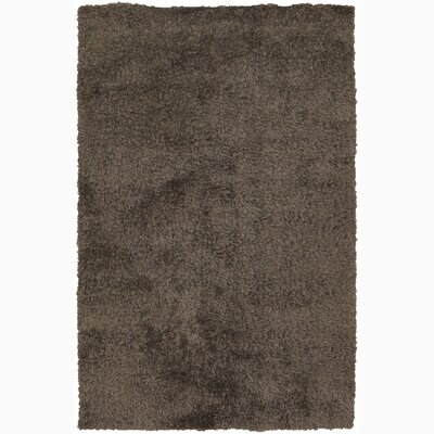 Oyster Brown Area Rug Rug Size: 79 x 106