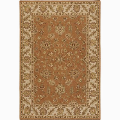 Abell Brown/Tan Area Rug Rug Size: 2 x 3