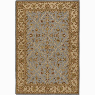 Pooja Baktiari Brown/Blue Area Rug Rug Size: 2 x 3
