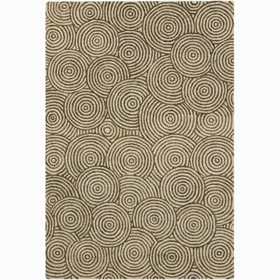 Retro Unique Beige Area Rug Rug Size: 4 x 6
