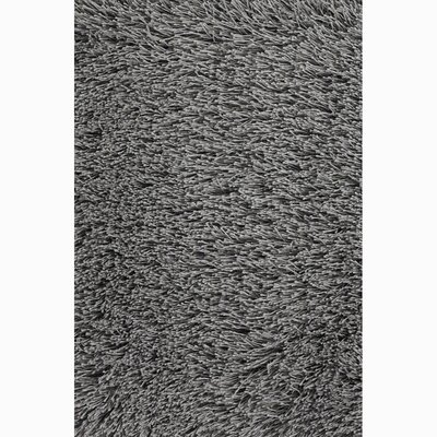Johnny Black/Gray Area Rug Rug Size: 79 x 106