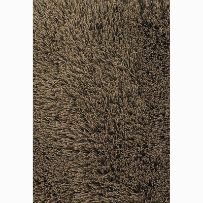 Rivera Brown Solid Area Rug Rug Size: 2 x 3