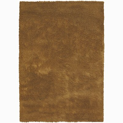 Johnny Light Brown Area Rug Rug Size: 79 x 106