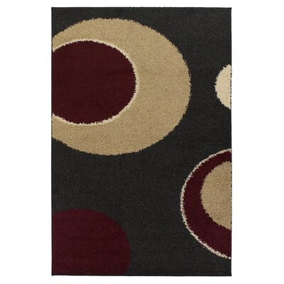 Tyris Circle Area Rug Rug Size: 5 x 8