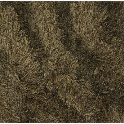 Leffel Brown Area Rug Rug Size: 79 x 106