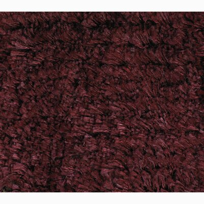 Ramiro Red Solid Area Rug Rug Size: Rectangle 79 x 106