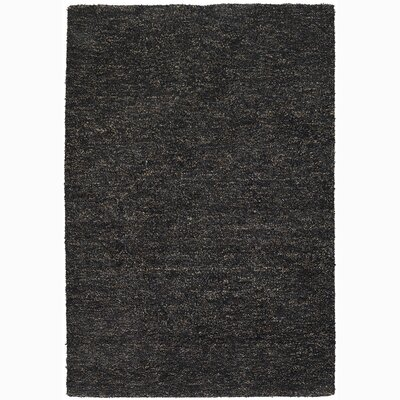Sterling Black Area Rug Rug Size: 79 x 106