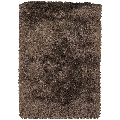 Arden Brown/Tan Area Rug Rug Size: Rectangle 9 x 13