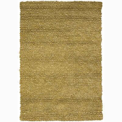 Zeal Solid Yellow Area Rug Rug Size: Rectangle 5 x 76