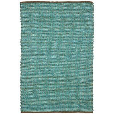 Zola Seafoam Area Rug Rug Size: 79 x 106