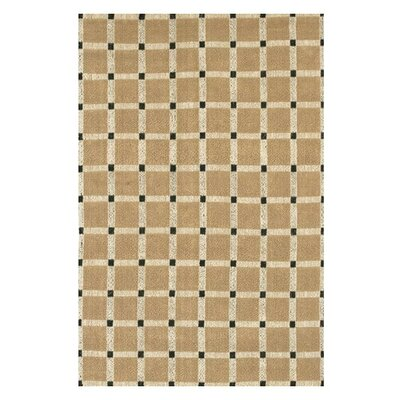 Lee-Abele Brown/Black Area Rug Rug Size: Rectangle 79 x 106