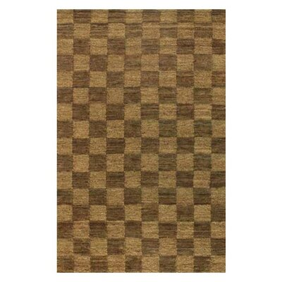 Fayean Gold/Yellow Area Rug Rug Size: Rectangle 5 x 76