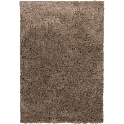 Issac Shag Brown Area Rug Rug Size: Rectangle 5 x 76