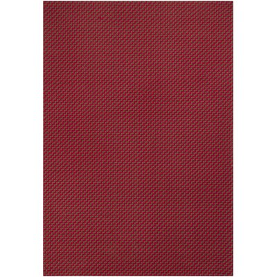 Maija Red Rug Rug Size: Rectangle 5' x 7'6