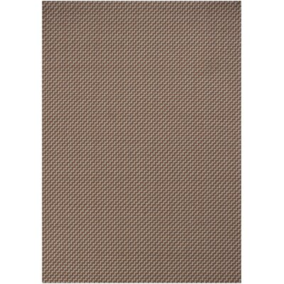 Deco Brown Rug Rug Size: 2 x 3