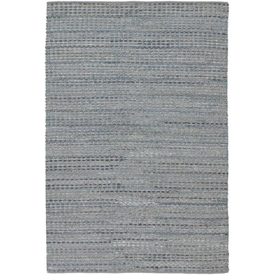 Easton Blue Area Rug Rug Size: 79 x 106