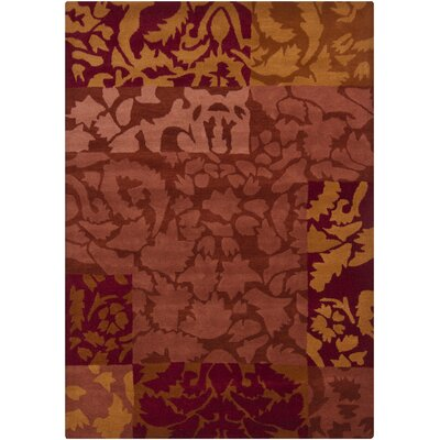 Geren Brown Area Rug Rug Size: 7 x 10