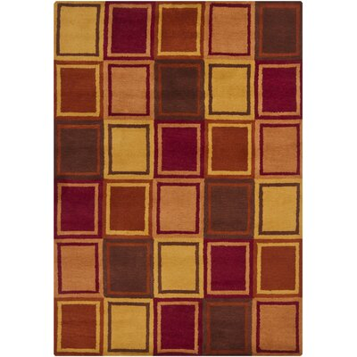 Stockwood Wool Area Rug Rug Size: 5 x 7