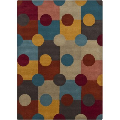 Fults Geometric Area Rug Rug Size: 7 x 10