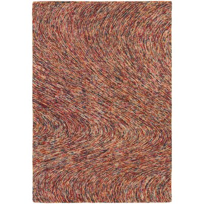 Frances Rust Area Rug Rug Size: 79 x 106
