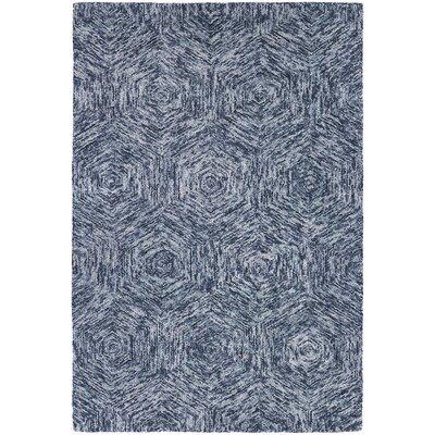 Galaxy Blue Area Rug Rug Size: 5 x 76