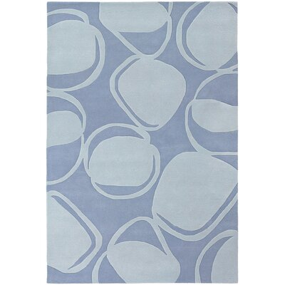 Inhabit Designer Light Blue Area Rug Rug Size: 79 x 106
