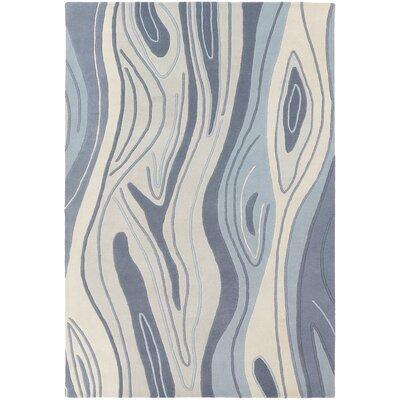 Yaning Blue Area Rug Rug Size: 5 x 76