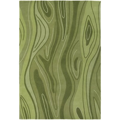 Inhabit Designer Olive Area Rug Rug Size: 79 x 106