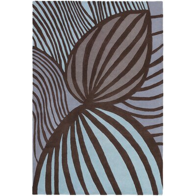 Kelton Cool Brown Area Rug Rug Size: 2 x 3