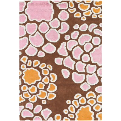 Inhabit Designer Brown Area Rug Rug Size: 2 x 3