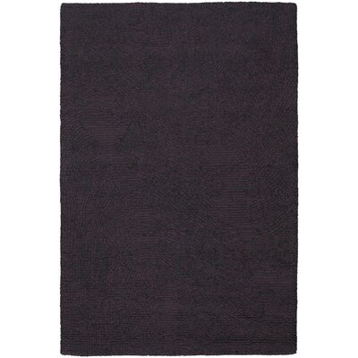 Deana Black/Purple Area Rug Rug Size: 79 x 106
