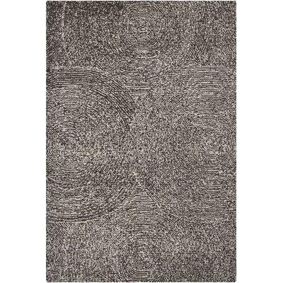 Navyan Gray Area Rug Rug Size: 79 x 106