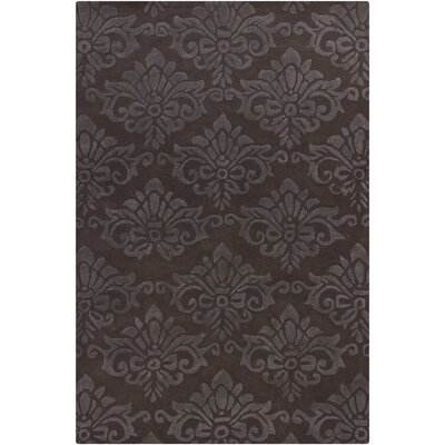 Navyan Natural Brown/White Area Rug Rug Size: 79 x 106