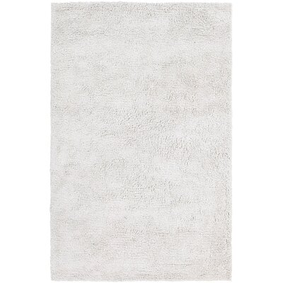Ombra Shag White Area Rug Rug Size: 9 x 13
