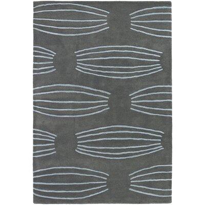 Katelynn Grey Rug Rug Size: 79 x 106