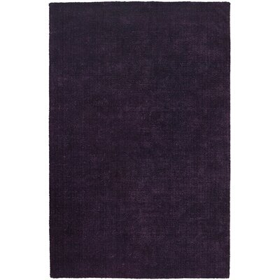 Sara Shag Dark Purple Area Rug Rug Size: 79 x 106