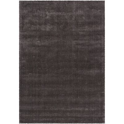 Sara Shag Dark Brown Area Rug Rug Size: 9 x 13