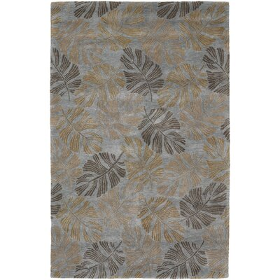 Pierview Tan Area Rug Rug Size: 5 x 76