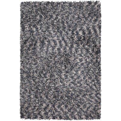 Vienna Shag Gray Area Rug Rug Size: 2 x 3