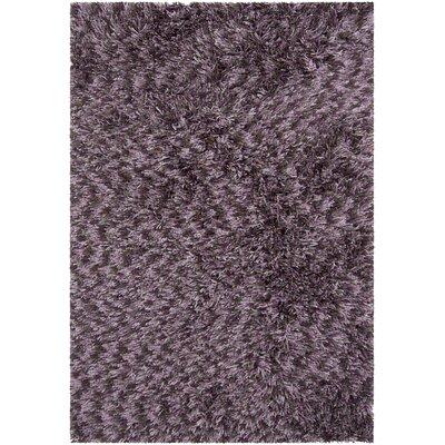 Vienna Shag Purple Area Rug Rug Size: 79 x 106