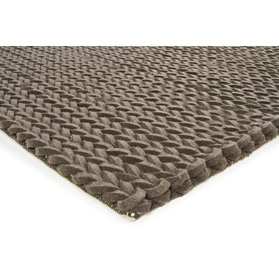 Zensar Brown Area Rug Rug Size: 79 x 106