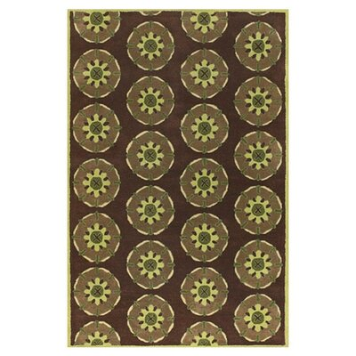 Desmon Brown Area Rug Rug Size: Rectangle 79 x 106