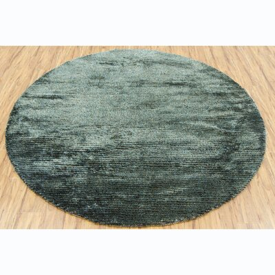 Samons Green Area Rug Rug Size: Round 79